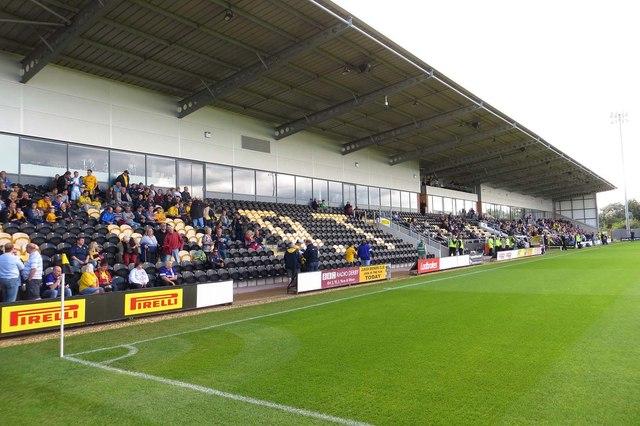 Burton Albion pirelli stadium