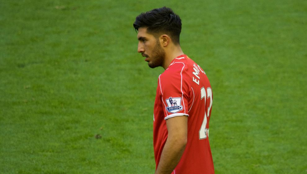 Emre Can is expected to start in midfield