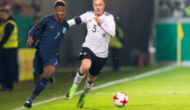 during Fussball U21 Deutschland vs England at Brita-Arena, Wiesbaden, Hessen, Germany on 2017-03-24, Photo: Sven Mandel