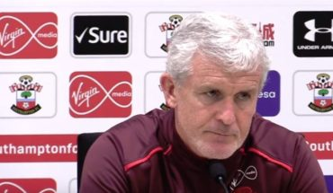 mark hughes southampton press conference