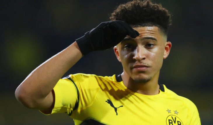 jadon sancho manchester united transfer news