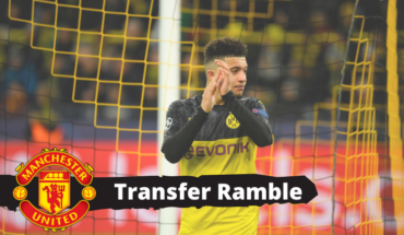 manchester Transfer news jadon sancho