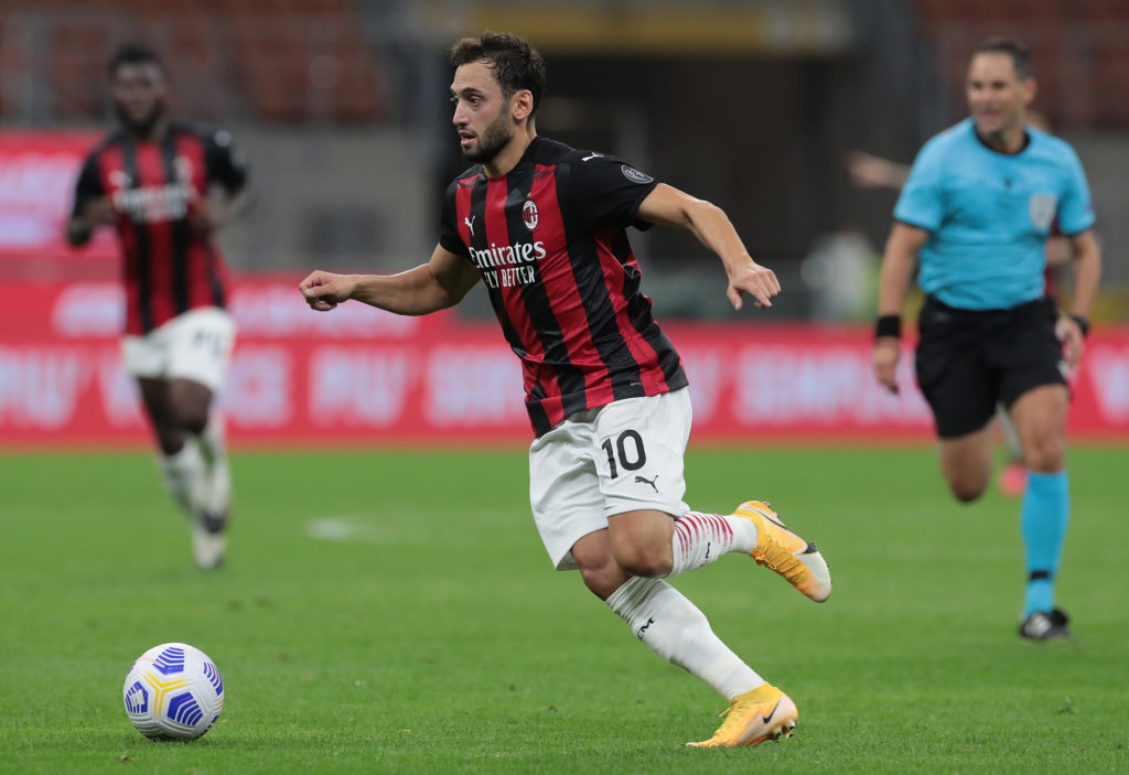 hakan calhanoglu for milan