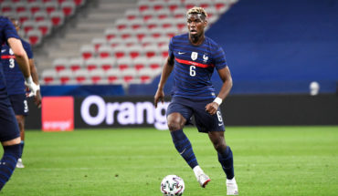 Manchester united's paul pogba ahead of euro 2020